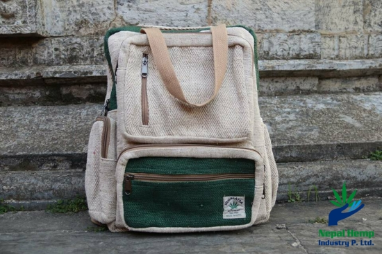 hemp Handle Back Pack