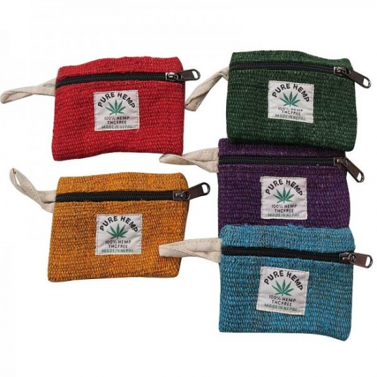 Hemp Assorted Coin Case